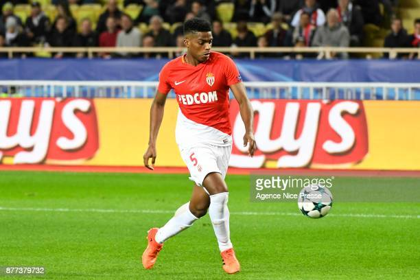 Jemerson of Monaco during the UEFA Champions League match between As Monaco and RB Leipzig at Stade Louis II on November 21 2017 in Monaco Monaco