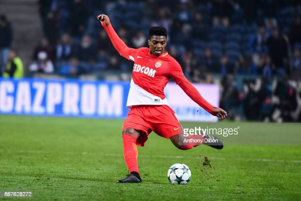 Jemerson of Monaco during the Uefa Champions League match between Fc Porto and As Monaco at Estadio do Dragao on December 6 2017 in Porto Portugal