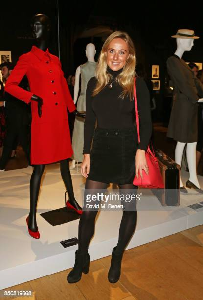 Jemima Cadbury attends the opening reception for 'Audrey Hepburn The Personal Collection' at Christie's on September 21 2017 in London England