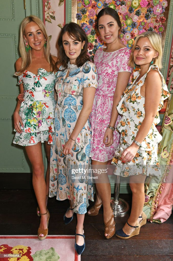 Jemima Cadbury & Perrier-Jouet Host Spring Lunch At Annabel's To Celebrate The Launch Of BeeBazaar.co.uk : News Photo