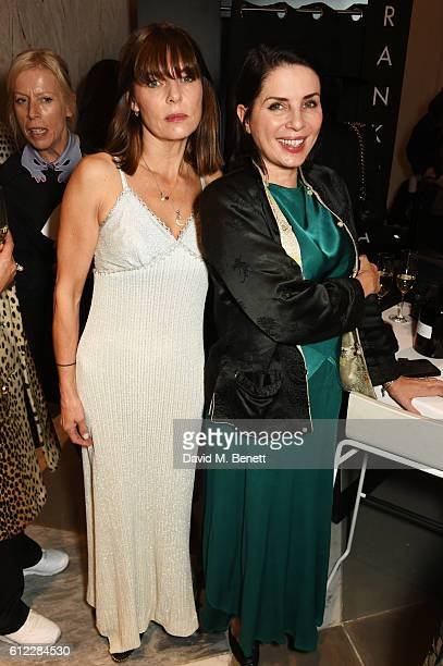 Jemima French and Sadie Frost attend the launch of 'SX Rankin' a new fragrance collaboration between photographer Rankin and fragrance designer Azzi...