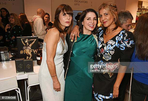 Jemima French Sadie Frost and Azzi Glasser attend the launch of 'SX Rankin' a new fragrance collaboration between photographer Rankin and fragrance...