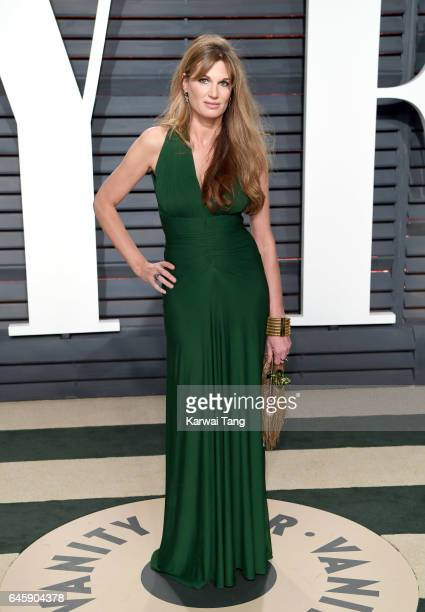 Jemima Goldsmith arrives for the Vanity Fair Oscar Party hosted by Graydon Carter at the Wallis Annenberg Center for the Performing Arts on February...