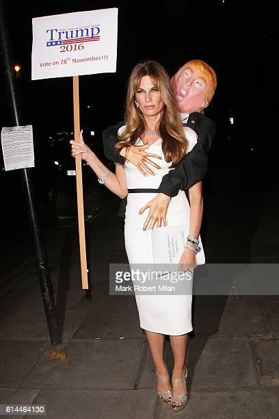 Jemima Goldsmith arriving the UNICEF Halloween Ball on October 13 2016 in London England