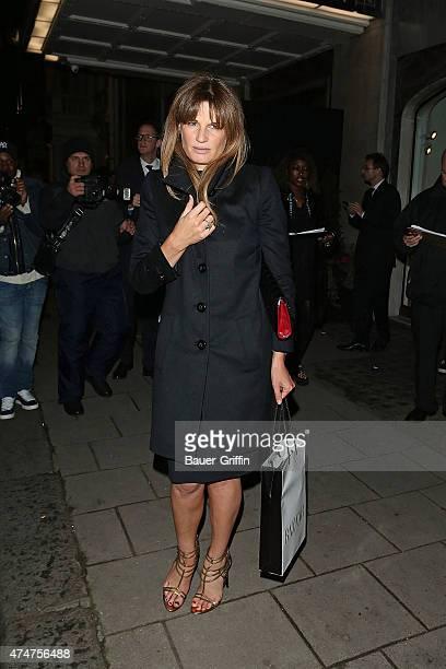 Jemima Goldsmith is seen on November 01 2012 in London United Kingdom