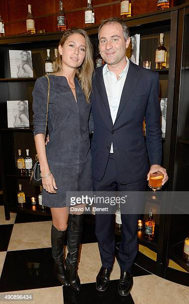 Jemima Jones and Ben Goldsmith arrive at the London launch of Casamigos Tequila and Cindy Crawford's book 'Becoming' hosted by Rande Gerber George...
