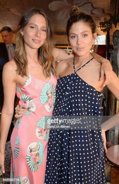 Jemima Jones and Quentin Jones attend the launch of new book 'A Love Of Eating Recipes From Tart London' by Lucy CarrEllison and Jemima Jones at 5...