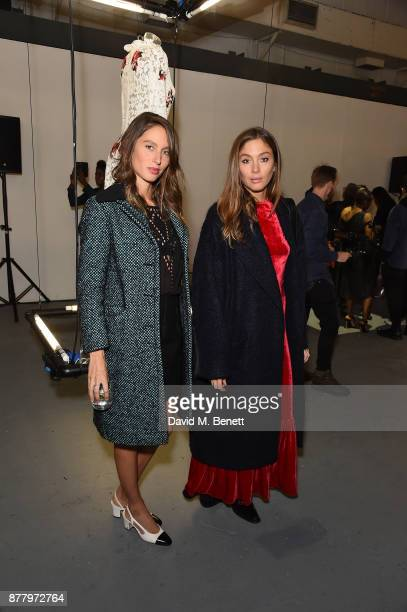 Jemima Jones and Quentin Jones attend the WHITE cocktail party hosted by Italian Trade Agency at Ambika on November 23 2017 in London England