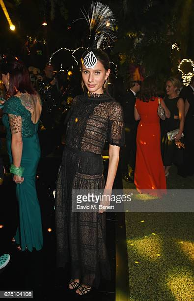 Jemima Jones attends The Animal Ball 2016 presented by Elephant Family at Victoria House on November 22 2016 in London England