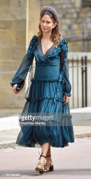Jemima Jones attends the wedding of Lady Gabriella Windsor and Thomas Kingston at St George's Chapel on May 18 2019 in Windsor England