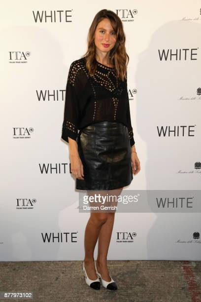 Jemima Jones attends the WHITE cocktail party hosted by Italian Trade Agency at Ambika P3 on November 23 2017 in London England