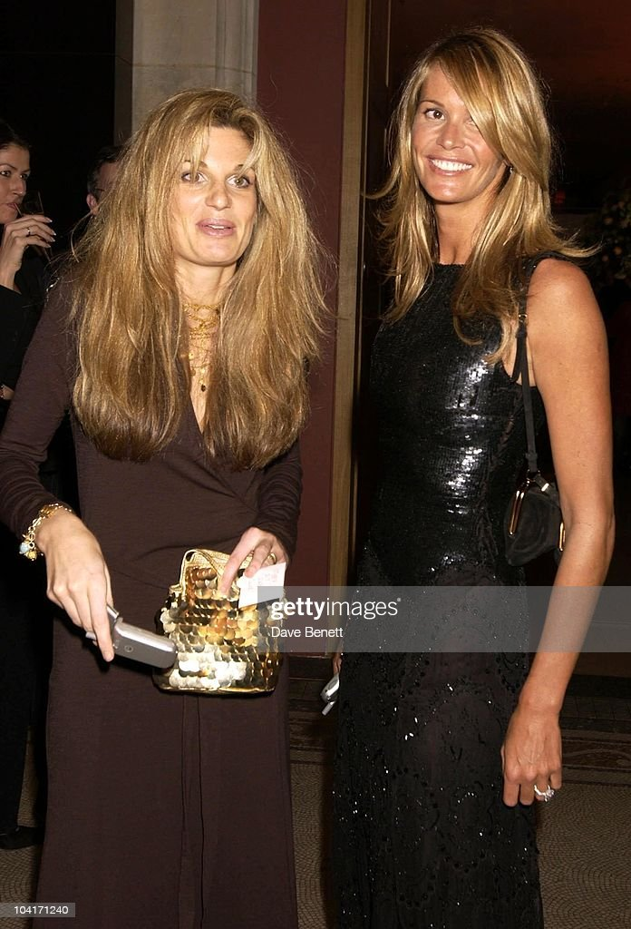 Jemima Khan And Elle Mcphearson, Fashion Photographer Mario Testino Attracted All The Most Glamorous Women In London To His Exhibition At The National Portrait Gallery.