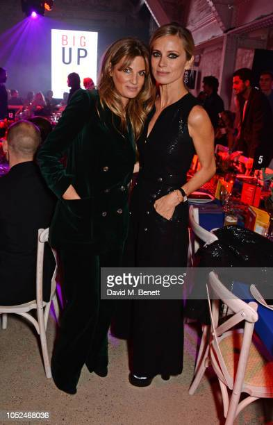 Jemima Khan and Laura Bailey attend the Big Up Uganda fundraising gala for Save The Children hosted by Adwoa Aboah Felix Cooper at Wild By Tart...