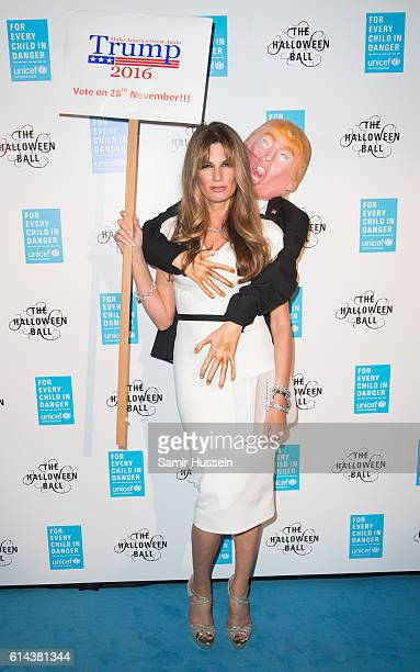 Jemima Khan attends the annual UNICEF UK Halloween Ball at one Embankment on October 13 2016 in London England