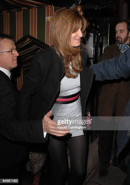 Jemima Khan attends the Finch and Partners' Chanel Pre-BAFTA Party held at Annabel's on February 7, 2009 in London, England.