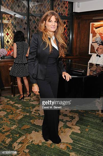 Jemima Khan attends the Icons of Style dinner hosted by Michael Kors and Vanity Fair on May 14 2015 in London United Kingdom