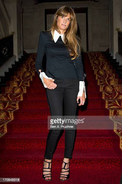 Jemima Khan attends The New Statesman Centenary Party at Great Hall on June 20 2013 in London England