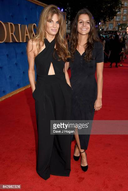 """Jemima Khan attends the """"Victoria & Abdul"""" UK premiere at Odeon Leicester Square on September 5, 2017 in London, England."""