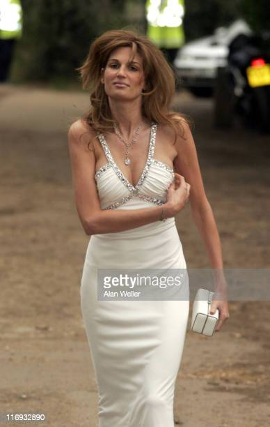 Jemima Khan during An Elephant Durbar Outside Arrivals at Petersham House in Petersham Great Britain