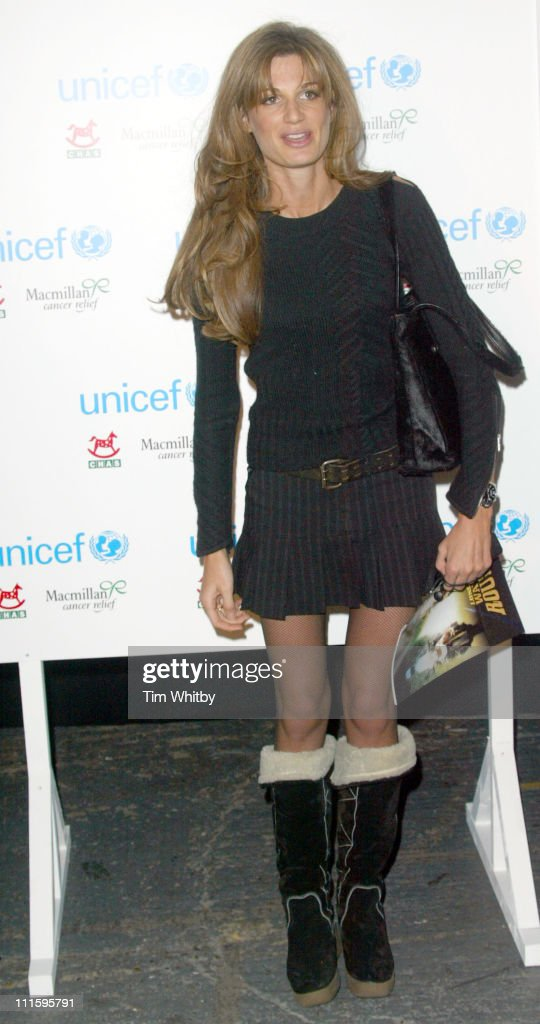 Jemima Khan during 'The Long Way Round' Party, Which Raised 200,00 For Charity - Arrivals in London, Great Britain.