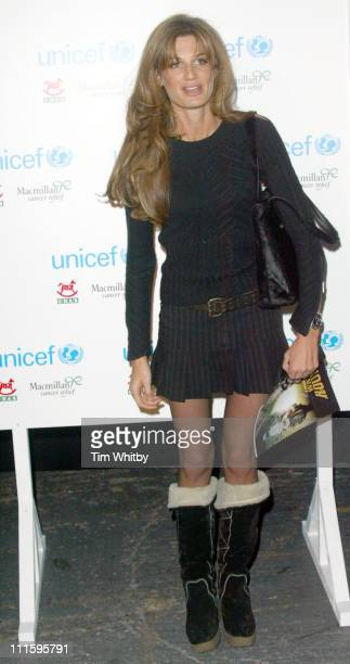 Jemima Khan during The Long Way Round Party Which Raised 20000 For Charity Arrivals in London Great Britain