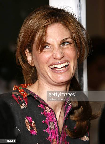 Jemima Khan during Vogue's 90th Birthday and Motorola Party Red Carpet Arrivals in London United Kingdom