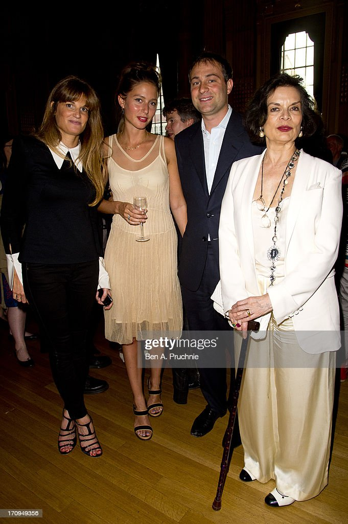 Jemima Khan, Guest, Ben Goldsmith and Bianca Jagger attend The New Statesman Centenary Party at Great Hall on June 20, 2013 in London, England.