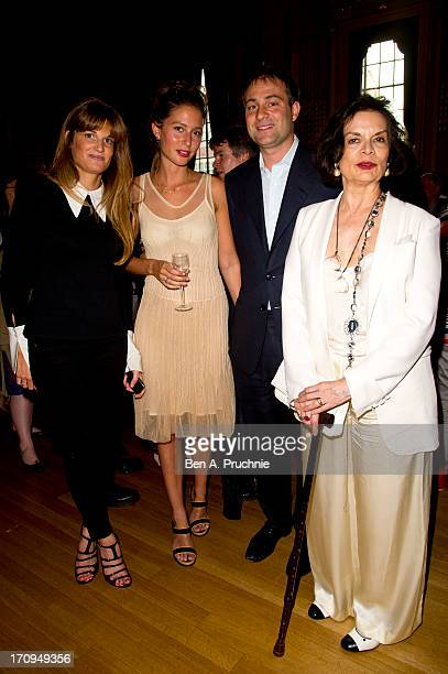Jemima Khan Guest Ben Goldsmith and Bianca Jagger attend The New Statesman Centenary Party at Great Hall on June 20 2013 in London England