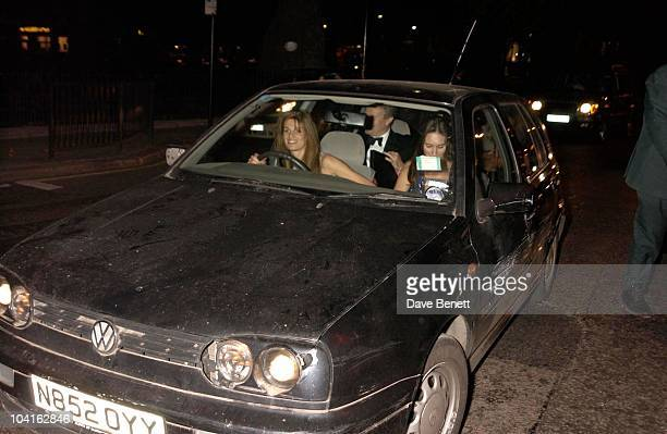 Jemima Khan Leaves In Her Battered Up Golf Annabels Celebrates It's 40th Birthday And The Renovation By Owners Mark Burley's Daughter India