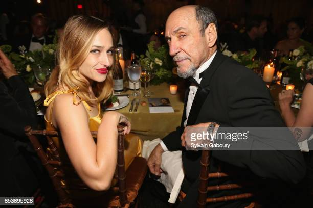 Jemima Kirke and F Murray Abraham attend Metropolitan Opera Opening Night Gala at Lincoln Center on September 25 2017 in New York City