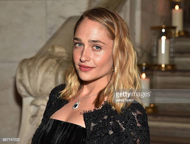 Jemima Kirke attends as CHANEL Fine Jewelry Celebrates The New York Public Library Treasures Collection at The New York Public Library on June 2 2016...