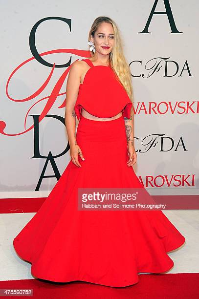 Jemima Kirke attends the 2015 CFDA Fashion Awards at Alice Tully Hall at Lincoln Center on June 1 2015 in New York City