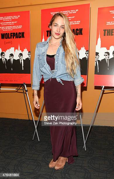 Jemima Kirke attends 'The Wolfpack' New York premiere at Sunshine Landmark on June 9 2015 in New York City