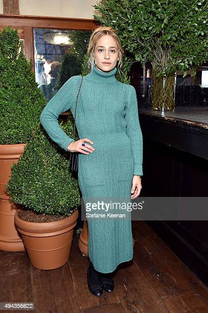Jemima Kirke attends Through Her Lens The Tribeca Chanel Women's Filmmaker Program luncheon at Locanda Verde on October 26 2015 in New York City