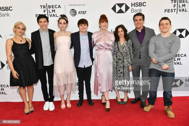 Jemima Kirke Connor Johnston Harley Quinn Smith Brendan Meyer Molly Ringwald Melissa Miller Costanzo Brian d'Arcy James ad Sam McCarthy attend the...