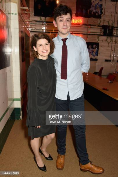Jemima Rooper and John Dagleish attend the press night after party for 'A Midsummer Night's Dream' at The Young Vic on February 23 2017 in London...