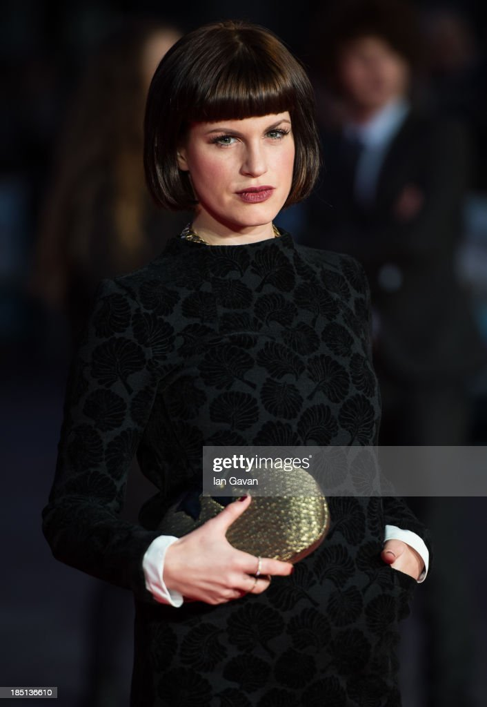 Jemima Rooper attends the European premiere of 'One Chance' at The Odeon Leicester Square on October 17, 2013 in London, England.