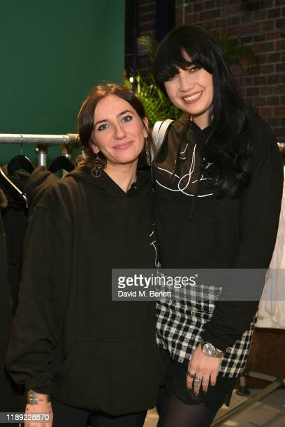 Jemima Sara and Daisy Lowe attend the launch of Femme by Daisy Lowe x Jemima Sara at Wolf Badger on November 21 2019 in London England