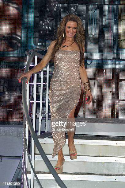 Jemima Slade is evicted from the Big Brother house at Elstree Studios on June 28 2013 in Borehamwood England