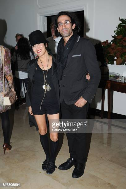Jemma Kahng and David Victor Rose attend CFDA 2010 New Members Party hosted by VERA WANG at The Home of Vera Wang on October 27 2010 in New York City