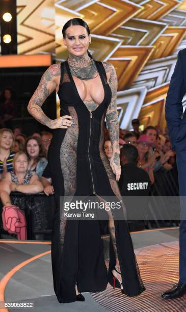 Jemma Lucy is evicted from the Celebrity Big Brother house at Elstree Studios on August 25 2017 in Borehamwood England