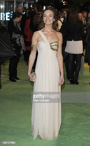 Jemma Powell Arriving For The Royal World Premiere Of Alice In Wonderland At The Odeon Leicester Square London