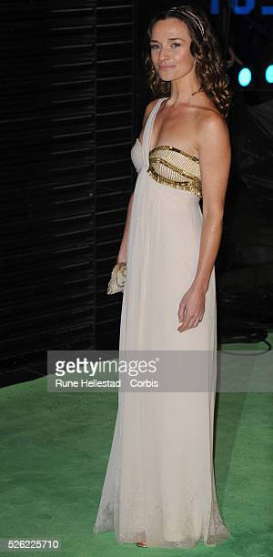 Jemma Powell attends the premiere of Alice In Wonderland at Odeon Leicester Square