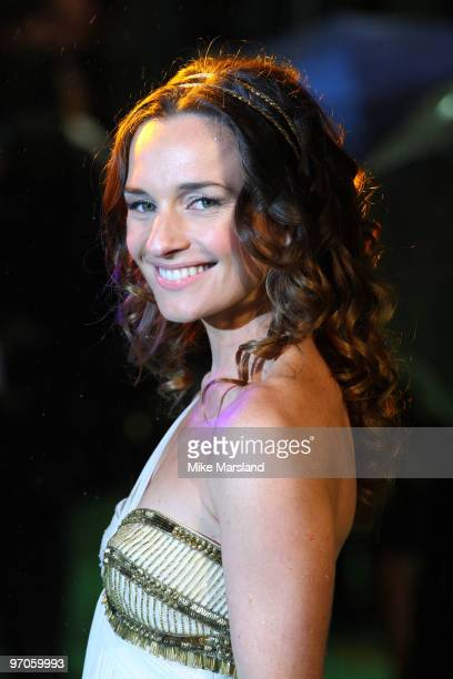 Jemma Powell attends the Royal World Premiere of Tim Burton's 'Alice In Wonderland' at Odeon Leicester Square on February 25 2010 in London England