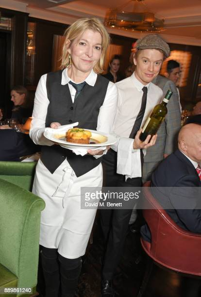 Jemma Redgrave and Freddie Fox attend 'One Night Only At The Ivy' in aid of Acting for Others on December 10 2017 in London England