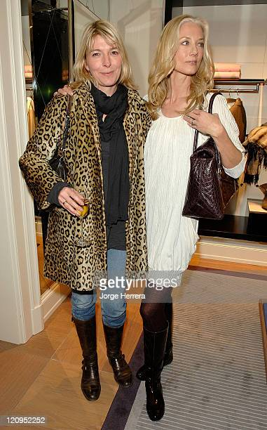 Jemma Redgrave and Joely Richardson at the Ballantyne Charity Party in benefit of the Helen Bamber Foundation held at the Ballantyne store on New...