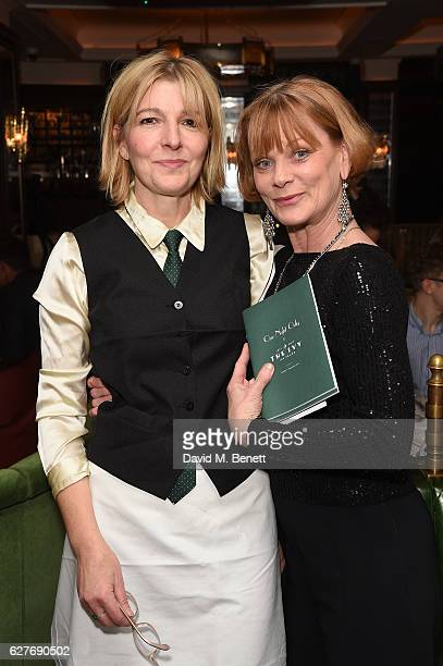 Jemma Redgrave and Samantha Bond attend One Night Only at The Ivy in aid of Acting for Others at The Ivy on December 4 2016 in London England