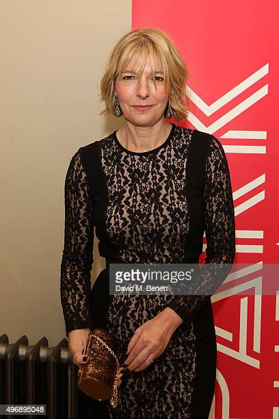 Jemma Redgrave attends the Park Theatre Gala 2015 at Stoke Newington Town Hall on November 12 2015 in London England