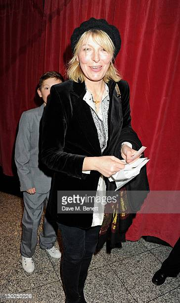 Jemma Redgrave attends the premiere of 'Anonymous' during the 55th BFI London Film Festival at Empire Leicester Square on October 25 2011 in London...