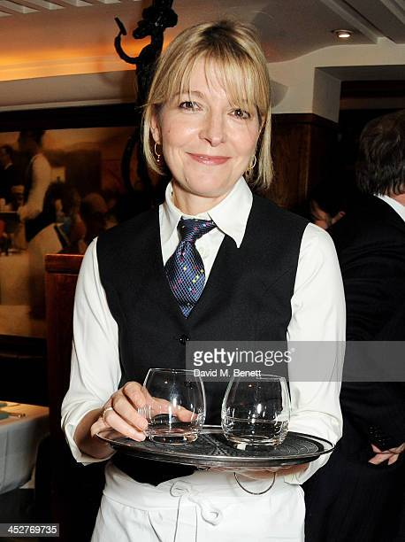 Jemma Redgrave waits tables during One Night Only at The Ivy in aid of Acting For Others supported by Tanqueray No TEN at The Ivy on December 1 2013...